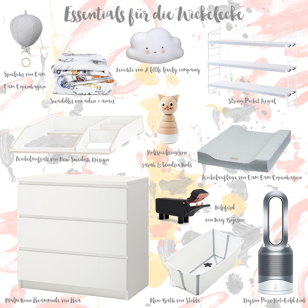 Essentials für die Babyecke  by eat blog love