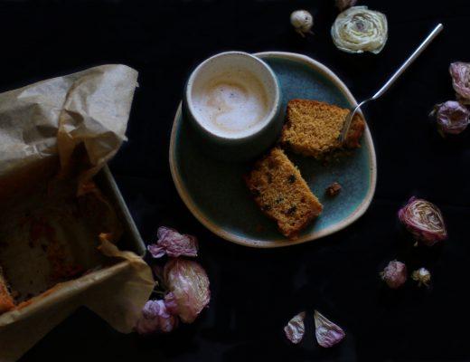 Lemon Chocolate Chip Cake by eat blog love