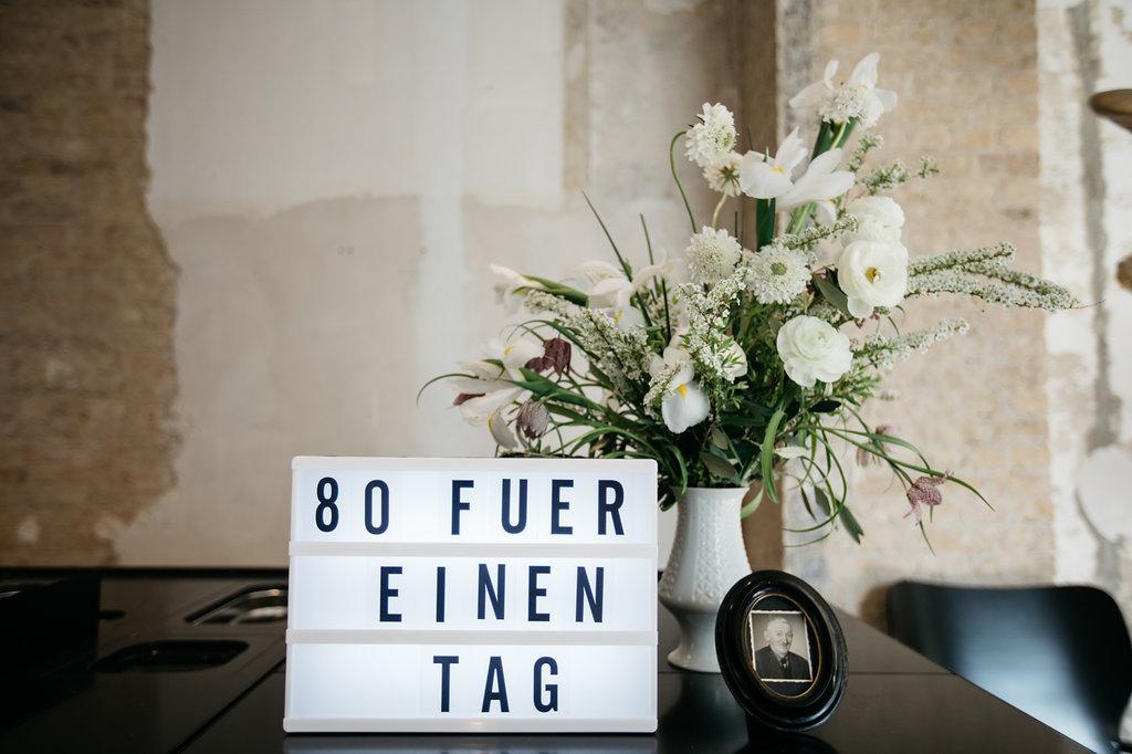 #gefühlteachtzig - Wie fühlt sich das Leben mit 80 an? by eat blog love