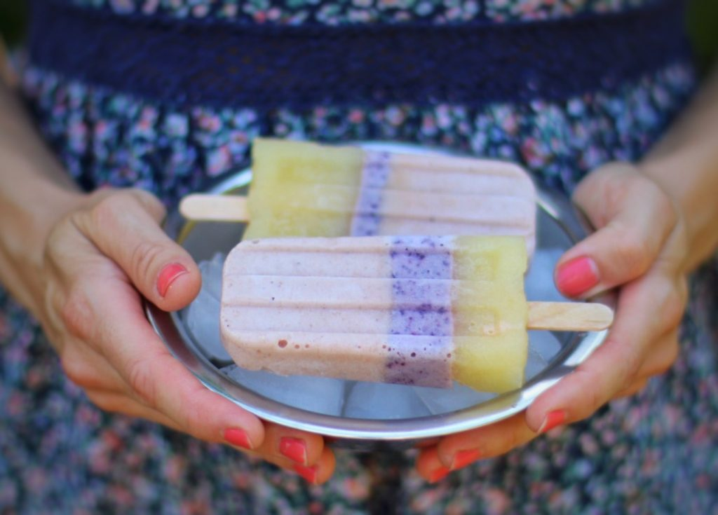 Ice Pops Zuckerfreies Eis am Stiel für Kinder by eat blog love