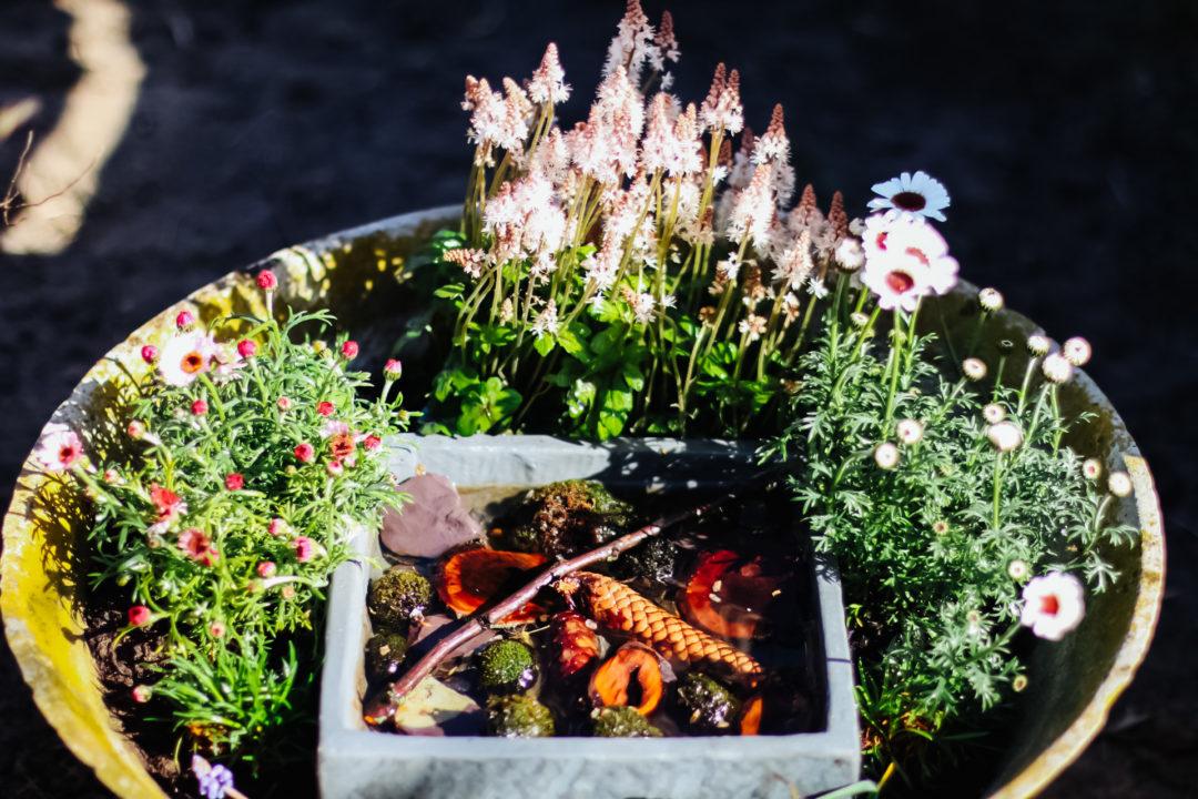 DIY Bienentränke selber bauen by eat blog love