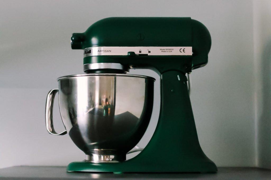 Kitchenaid grün lackieren by eat blog love